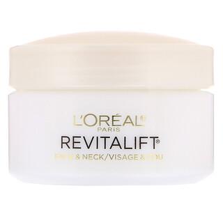 L'Oreal, Revitalift Anti-Wrinkle + Firming, Face & Neck Moisturizer, 1.7 oz (48 g)