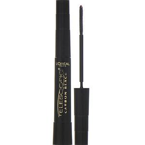 L'Oreal, Telescopic Carbon Black Mascara, 935 Carbon Black, 0.27 fl oz (8 ml) отзывы покупателей