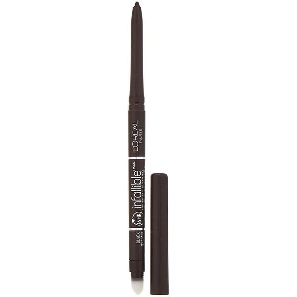 Infallible Mechanical Eyeliner, 581 Black Brown, .008 oz (240 mg)