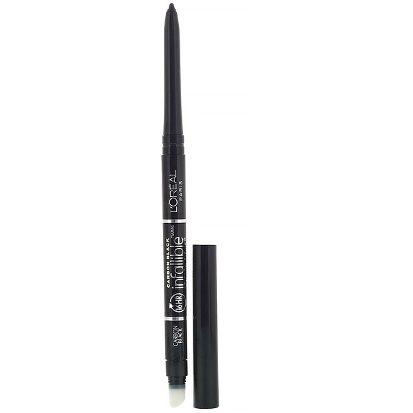L'Oreal, Infallible Mechanical Eyeliner, 591 Carbon Black, 0.008 oz (240 mg)