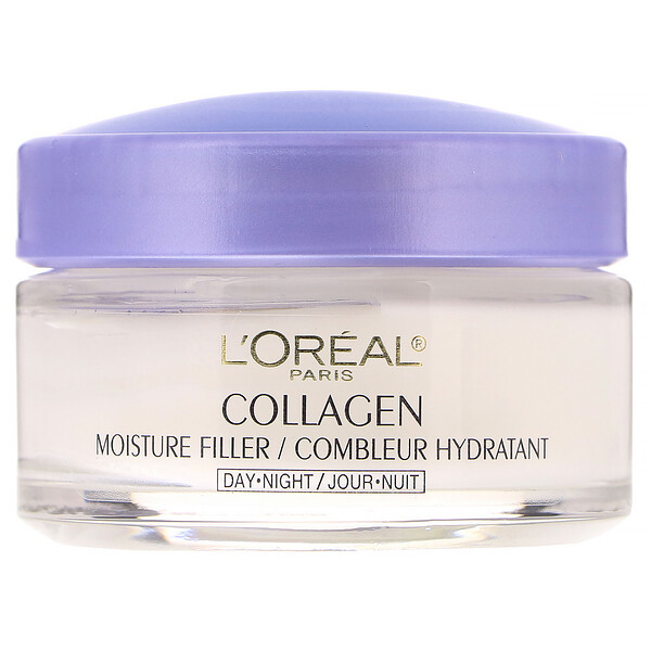 Collagen Moisture Filler, Day/Night Cream, 1.7 oz (48 g)