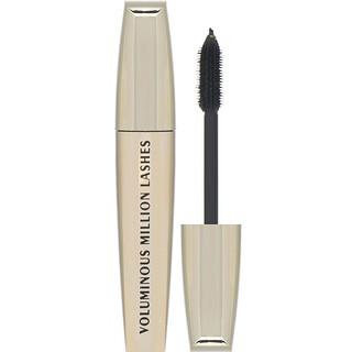 L'Oreal, Voluminous Million Lashes Mascara, 635 Blackest Black, 0.3 fl oz (9 ml)