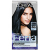 L'Oreal, Feria, Multi-Faceted Shimmering Color,  M31 Cool Soft Black, 1 Application