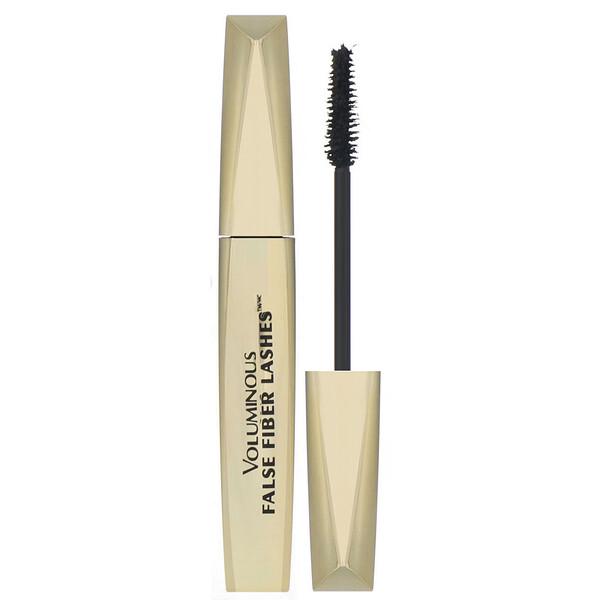 L'Oreal, Voluminous False Fiber Lashes Mascara, 270 Blackest Black, 0.34 fl oz (10 ml) (Discontinued Item)