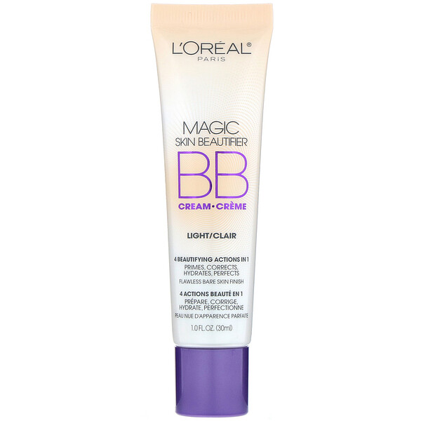 L'Oreal, Magic Skin Beautifier B.B., Bálsamo para imperfecciones, Claro, 30 ml (1 oz. líq.)