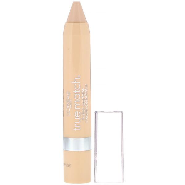 L'Oreal, True Match Super-Blendable Crayon Concealer,  N1-2-3 Neutral Fair/Light, .1 oz (2.8 g) (Discontinued Item)