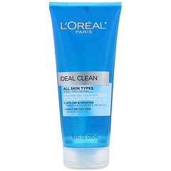 L'Oreal, Ideal Clean, Foaming Gel Cleanser, 6.8 fl oz (200 ml)