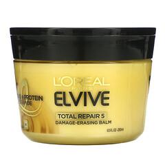 L'Oreal, L'Oreal Paris,Elvive,全效護理 5,解除修復護髮膏,8.5 盎司(250 毫升)