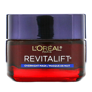 L'Oreal, Revitalift Triple Power, Anti-Aging Overnight Beauty Mask, 1.7 oz (48 g)