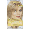 L'Oreal, Superior Preference, Fade-Defying Color + Shine System, Natural, 8 Medium Blonde, 1 Application