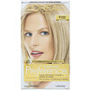 L'Oreal, Superior Preference, Fade-Defying Color + Shine System, 9 Natural Blonde, 1 Application