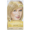 L'Oreal, Superior Preference, Fade-Defying Color + Shine System,  Warmer, Light Golden Blonde 9G , 1 Application