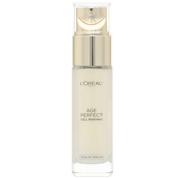 L'Oreal, Age Perfect Cell Renewal, Skin Renewing Facial Treatment, 1 fl oz (30 ml) (Discontinued Item)