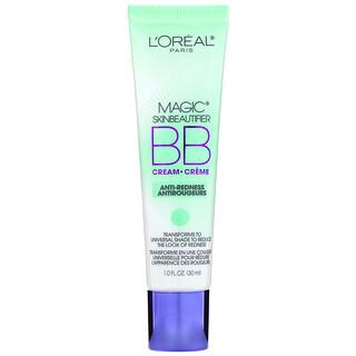 L'Oreal, Magic Skin Beautifier, Creme BB, alívio da vermelhidão, 30 ml