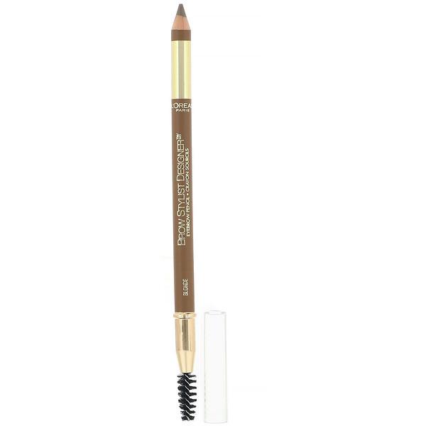 Brow Stylist Designer Eyebrow Pencil, 305 Blonde, .045 oz (1.3 g)