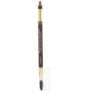 L'Oreal, Brow Stylist Designer Eyebrow Pencil, 315 Dark Brunette, .045 oz (1.3 g) отзывы