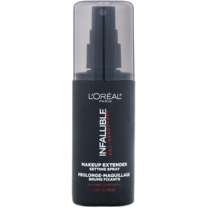 L'Oreal, Infallible Pro-Spray & Set Makeup Extender Setting Spray, 3.4 fl oz (100 ml) отзывы
