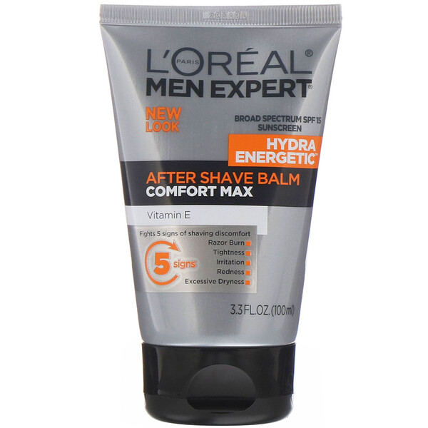 L'Oreal, Men Expert, After Shave Balm, Comfort Max, 3.3 fl oz (100 ml) (Discontinued Item)