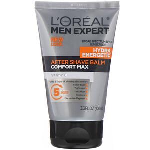 L'Oreal, Men Expert, After Shave Balm, Comfort Max, 3.3 fl oz (100 ml) отзывы