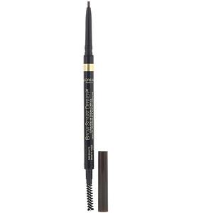 L'Oreal, Brow Stylist Definer, Ultra Fine Tip, 390 Dark Brunette, 0.003 oz (90 mg) отзывы
