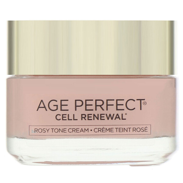 L'Oreal, Age Perfect Cell Renewal, Rosy Tone Moisturizer, 1.7 oz (48 g)