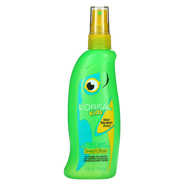 L'Oreal, Kids, Tangle Tamer, For Wet & Dry Hair, Sweet Pear, 9 fl oz (265 ml)