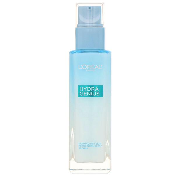 Hydra Genius, Glow Daily Liquid Care Moisturizer, Normal/Dry Skin, 3.04 fl oz (90 ml)