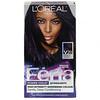 L'Oreal, Feria, Power Violet, High-Intensity Shimmering Color,  V28 Deepest Violet, 1 Application