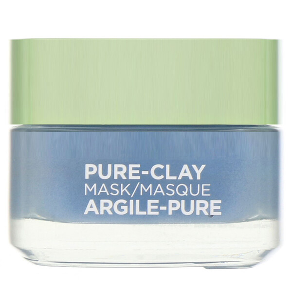 Pure-Clay Mask, Clear & Comfort, 3 Pure Clays + Seaweed, 1.7 oz (48 g)