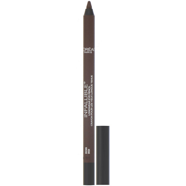 Infallible Pro-Last Waterproof Pencil Eyeliner, 940 Brown, 0.042 fl oz (1.2 g)