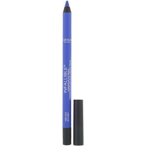 L'Oreal, Infallible Pro-Last Waterproof Pencil Eyeliner, 960 Cobalt Blue, 0.042 fl oz (1.2 g) отзывы