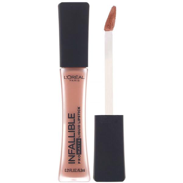 Lápiz de labios líquido de acabado mate Infallible, Color piel354, 6,3ml (0,21oz.líq.)