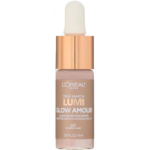 L'Oreal, True Match Lumi Glow Amour, 507 Daybreak, 0.47 fl oz (14 ml)