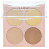 L'Oreal, True Match Lumi Glow Nude Highlighter Palette, 750 Sunkissed, 0.26 oz (7.3 g)
