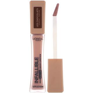 L'Oreal, Infallible Pro-Matte Liquid Lipstick, Les Chocolats, 852 Box O Chocolate, .21 fl oz (6.3 ml)