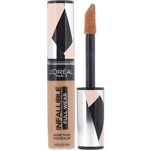 L'Oreal, Infallible Full Wear More Than Concealer, 400 Caramel,  .33 fl oz (10 ml) отзывы