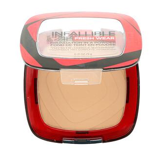 L'Oreal, Infallible 24H Fresh Wear, Foundation In A Powder, 125 Ivory Buff,  0.31 oz (9 g)