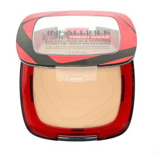L'Oreal, Infallible 24H Fresh Wear, Foundation In A Powder, 120 Vanilla, 0.31 oz (9 g)
