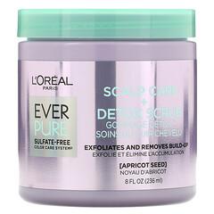 L'Oreal, Ever Pure,頭皮護理 + 輕體磨砂,8 液量盎司(236 毫升)