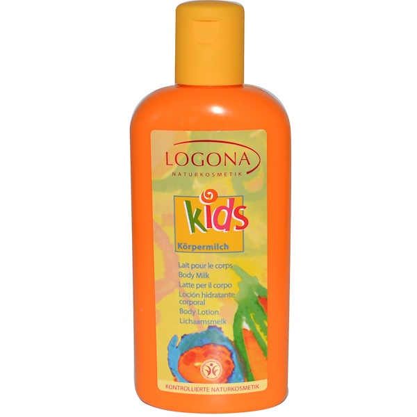 Logona Naturkosmetik, Kids Body Lotion, 6.8 fl oz (200 ml) (Discontinued Item)