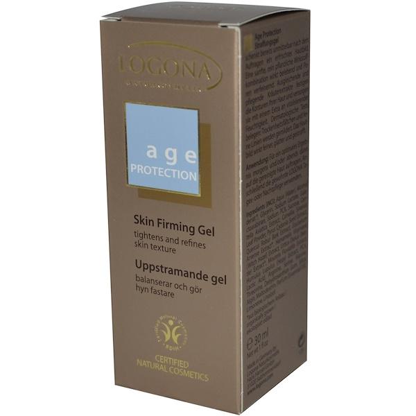 Logona Naturkosmetik, Age Protection, Skin Firming Gel, 1 fl oz (30 ml) (Discontinued Item)