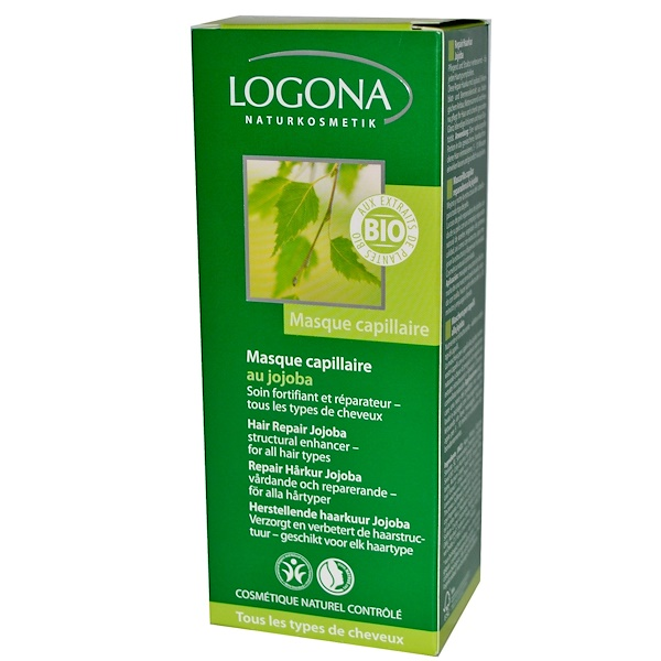 Logona Naturkosmetik, Hair Repair Jojoba, 5.1 fl oz (150 ml) (Discontinued Item)