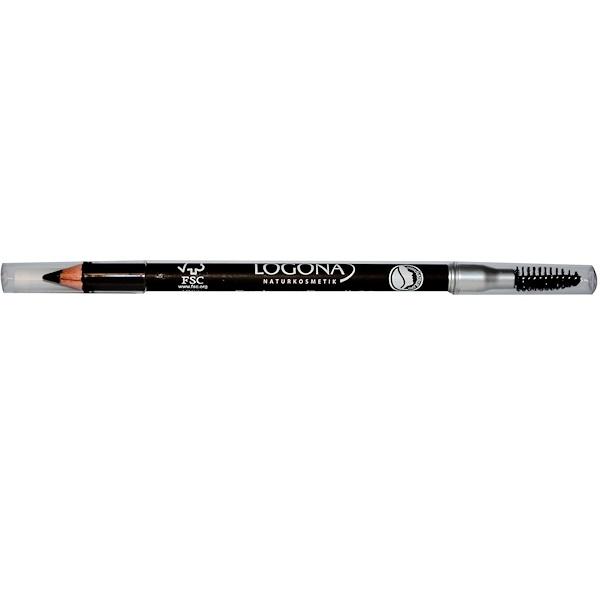 Logona Naturkosmetik, Eyebrow Pencil, Brunette 02, 0.037 oz (1.05 g) (Discontinued Item)