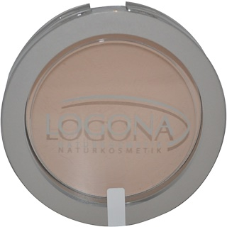 Logona Naturkosmetik, フェイスパウダー、 ライトベージュ01、 0.352オンス (10 g)