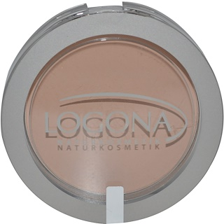 Logona Naturkosmetik, Face Powder, Medium Beige 02, 0.352 oz (10 g)