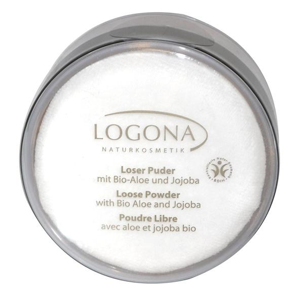 Logona Naturkosmetik, Loose Powder, Natural Beige 01, 0.88 oz (25 g) (Discontinued Item)