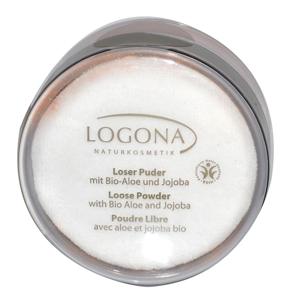 Logona Naturkosmetik, Loose Powder, Golden Bronze 02, 0.53 fl oz (15 g) (Discontinued Item)