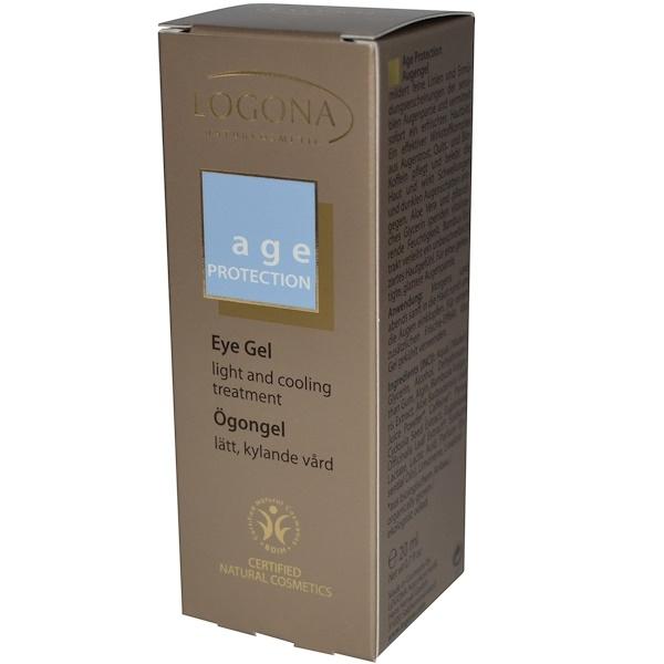 Logona Naturkosmetik, Age Protection, Eye Gel, 0.7 fl oz (20 ml) (Discontinued Item)