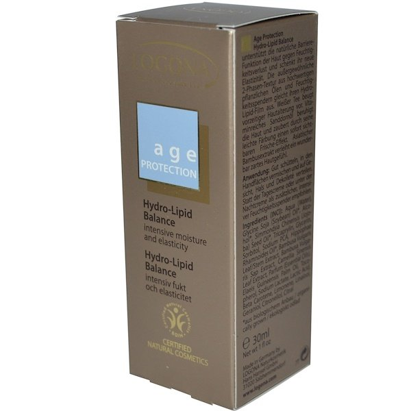 Logona Naturkosmetik, Age Protection, Hydro-Lipid Balance, 1 fl oz (30 ml) (Discontinued Item)