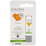 Отзывы о Logona Naturkosmetik, Насыщенный бальзам для губ с био-календулой, 0,15 унции (4,5 г)
